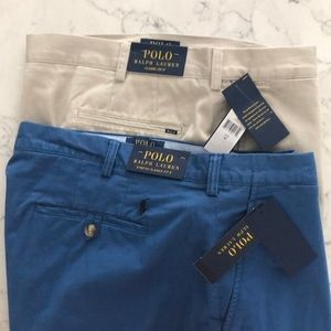 Lot of 2 pair Polo Ralph Lauren shorts 42, NEW